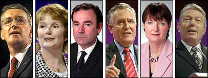 Labour deputy leadership contenders