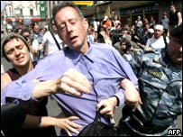 Питер Тэтчел во время инцидента
