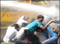 Students' protest in Delhi (File photo)