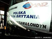 Polish bus to London