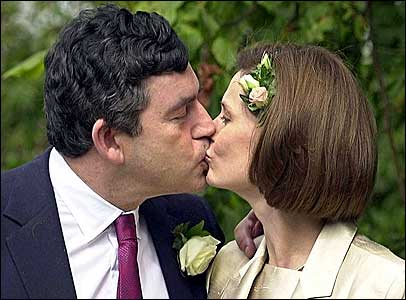 Gordon Brown's wedding