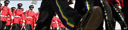 Umaru Yar'Adua's inauguration ceremony