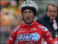 Italian rider Stefano Garzelli