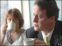 Staffroom with David Cameron