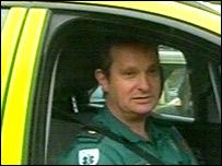 Paramedic supervisor Nigel Rees