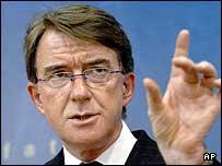 Peter Mandelson, comisionado europeo de Comercio