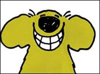 Roobard from cartoon Roobarb and Custard