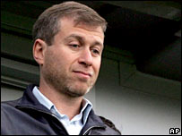 Chelsea owner Roman Abramovich