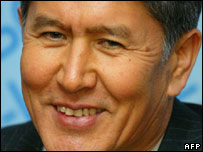 Almaz Atambayev. File picture.