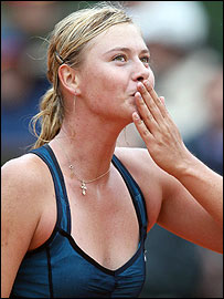 World number two Maria Sharapova