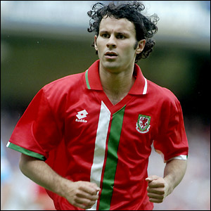 Giggs is among the scorers during a rare win over San Marino