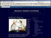 Reader Jan McGirk's memorial blog to her father Bradley Kenneth Schwarz