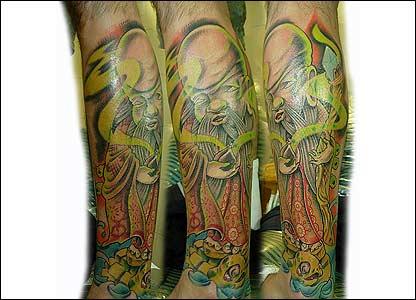 Tatuaje del lector Ricardo Rubiano