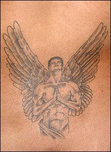 Tatuaje de la lectora Denise Castro