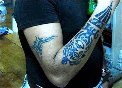 """foto de tatuajes maories. """"Mi tatuaje tribal maori (Nueva Zelandia) me hace mantener la cultura maori"""