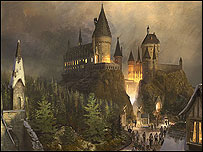 Plans for the Harry Potter theme park