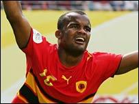 Angola striker Flavio
