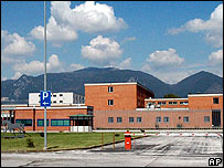 Jail in Terni, Italy (file photo)