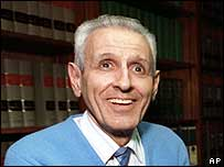 Jack Kevorkian in a 1991 photograph