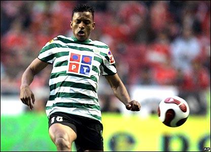 Sporting Lisbon winger Nani