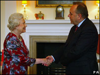 Alex Salmond and the Queen