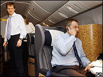 Alastair Campbell and Tony Blair