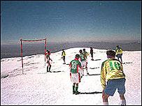 Monte Sajama en Bolivia