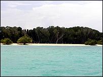 Djibouti coastline