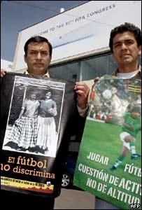 Juan Ramón de la Quintana y Milton Melgar