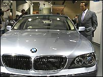 Schwarzenegger and BMW