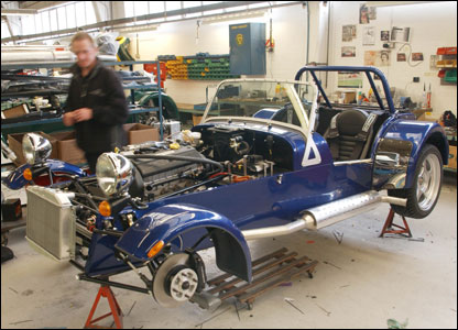 Caterham factory