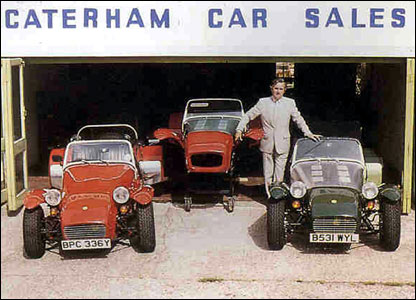 Graham Nearn at Caterham Cars