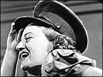 Gracie Fields performing in the All Star Cabaret