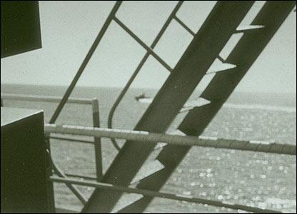 Israeli torpedo boat circling ship (pic courtesy ussliberty.org)