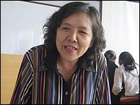 Xu Rong, Project Officer with Cultural Development Center for Rural Women