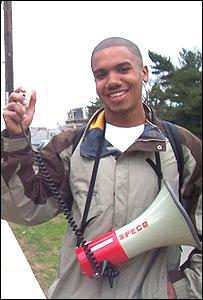 Carlos Rymer, estudiante de la Universidad de Cornell en EE.UU.