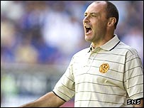 Maurice Malpas spent one season at Fir Park