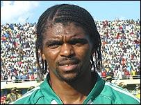 Nigeria striker Nwankwo Kanu