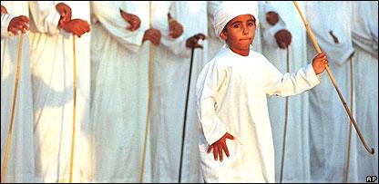 Niño árabe.