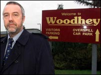 Martin Braidley at Woodhey - picture courtesy of MEN Syndication