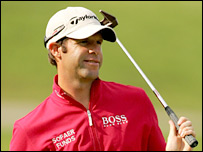 Bradley Dredge is two shots off the lead after the second round