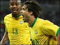 Ribas Diego celebrates