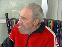 Fidel Castro, 21 April 2007