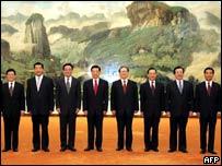 China's Politburo in 2004