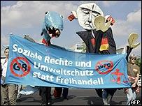 Activistas en Alemania