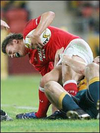 Wales wing Chris Czekaj