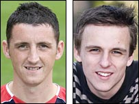 Ryan McStay and Marc Twaddle