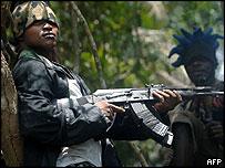 Militant in Nigeria's Niger Delta