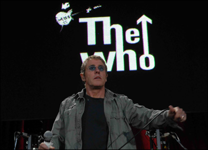 The Who, Swansea's Liberty Stadium, 1 June 2007