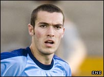 Darren Gribben played with Forfar last season